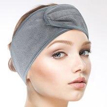 Sinland женская модная мягкая повязка на голову для макияжа
