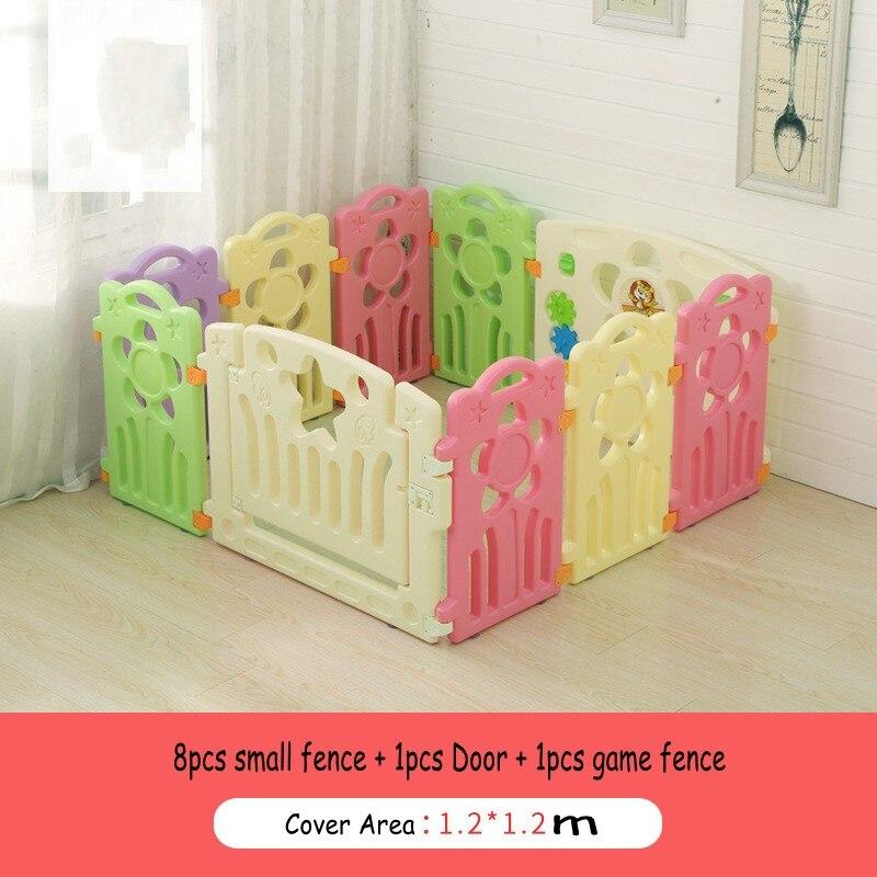 Новый Дизайн подсолнечника Форма игры забор для ребенка безопасной одежда для малышей Дети Крытый активность-ходьбу ограждение