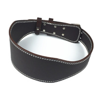 Weight Lifting Belt High Quality PU Leather Gym Belt Fitness Equipment Wide Back Support Weightlifting Belt