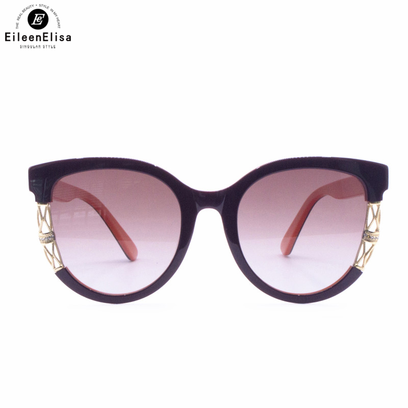 Newest Round Sunglasses Women Cat Eye Luxury Brand High Quality Sun Glasses Mirror Shades Eyewear for Female 2016 new fashion sunglasses women brand designer sun glasses vintage eyewear