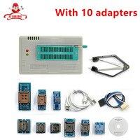 TL866A Programmer 10 Adapters English Russian Manual High Speed TL866 AVR PIC Bios 51 MCU Flash
