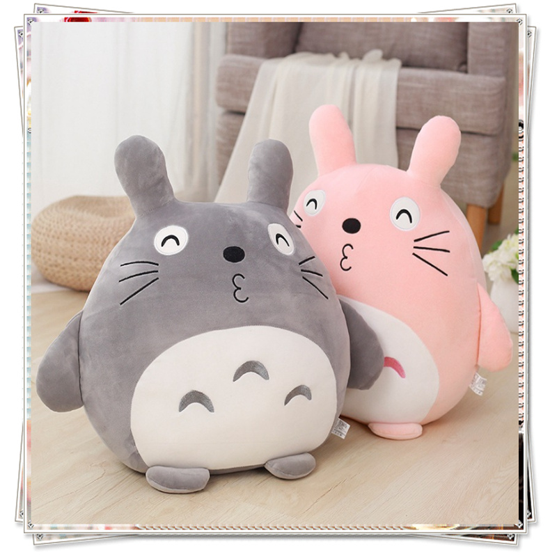 Totoro Pillow baby doll stuffed animals soft toys kawaii plush girls toys sponge bob gift for girlfriend plush pillow