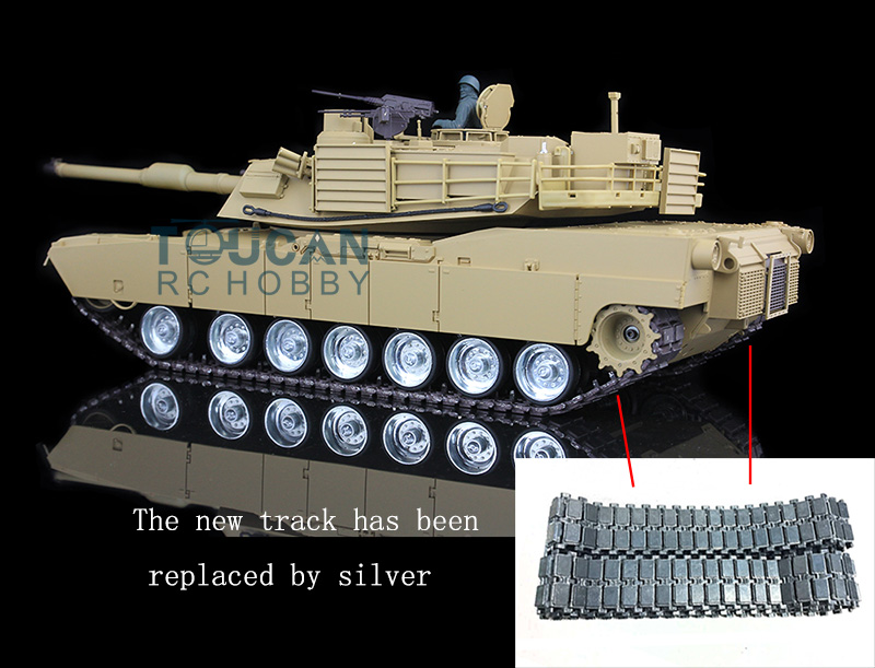 HengLong 1/16 Scale M1A2 Abrams RTR RC Tank Metal Tracks Wheels 360 Degrees Rotation Turret 3918 купальник aqua speed цвет темно синий