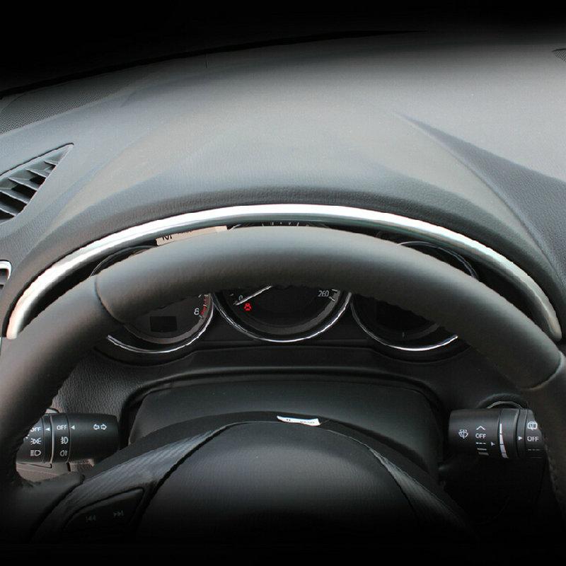 STYO ABS хромированный декоративный чехол для приборной панели с блестками для 2012-2015 LHD Mazdas CX-5 cx5
