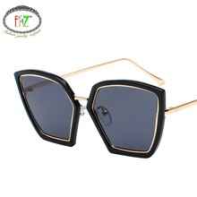 2829ccd3ce F.J4Z Hot Vintage Sunglasses Eye Protection Fashion Cool Irregular  Personality Cat Eye Shades Glasses For Outdoor Accessories