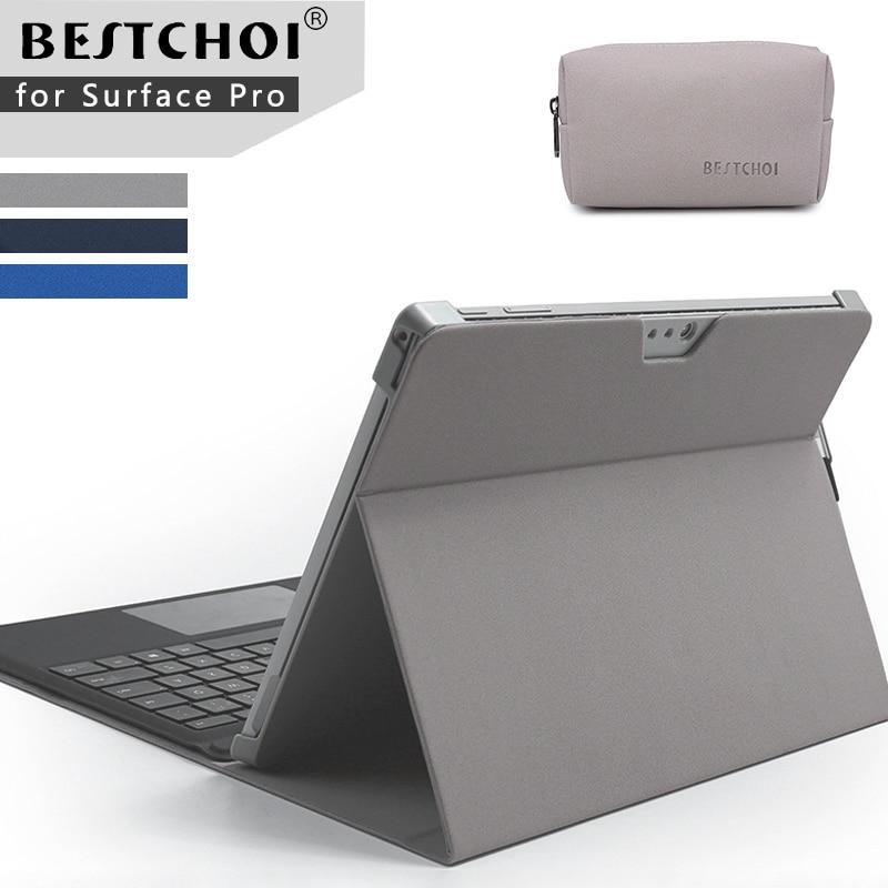 Laptop case for tablets stand holder for Microsoft surface pro 4 /pro 5 Laptop sleeve for Surface new pro 5 laptop fold holder samsonite чемодан 4 х колесный pro dlx 5