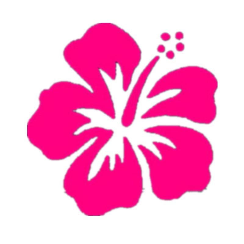 compra rosa flores hawaianas online al por mayor de china hawaiian flower clip art template hawaiian flower clip art template