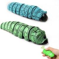 新しい小説のおもちゃリモートコントロール昆虫ロングセンサー赤外線センサー爬虫類キャタピラ電動リモートコントロールおもちゃの贈り物
