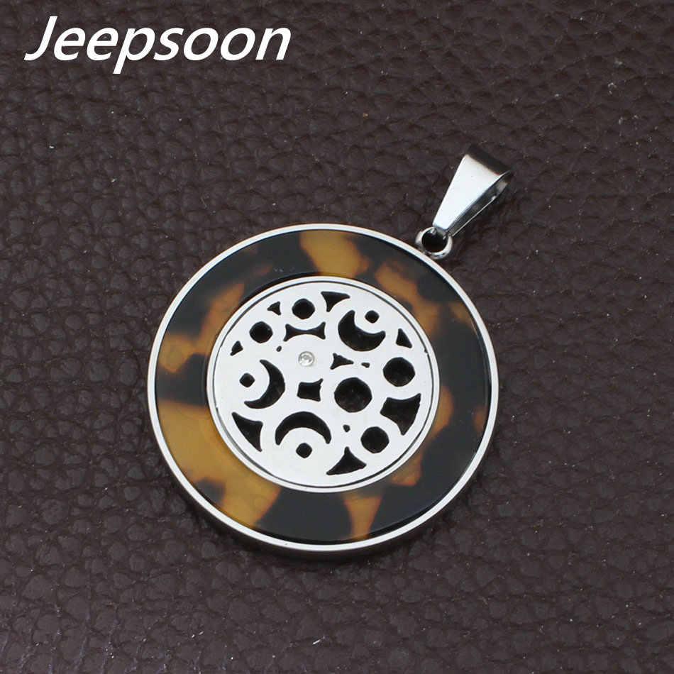 Cor de ouro e cor de prata Por Atacado de Moda de Aço Inoxidável conjunto de Jóias Pingentes E Brincos Para WomenSBJFCEBE