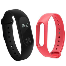 Wrist Strap for Xiaomi Mi Band 2 Silicone Colorful Wristband for Mi Band 2 Smart Bracelet