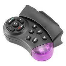 Портативный Автомобильный контроллер рулевого колеса MP5 медиа мультимедийный плеер DVD Автомобильный руль мультимедийный ключ контроллер