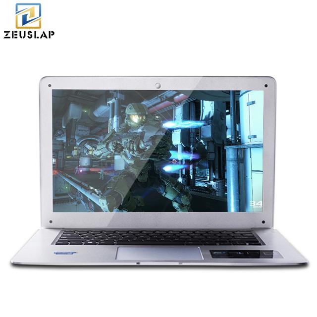 ZEUSLAP-A8 Ultrathin 4GB Ram+500GB HDD Windows 7/10 System Quad Core Fast Boot Laptop Notebook Netbook Computer