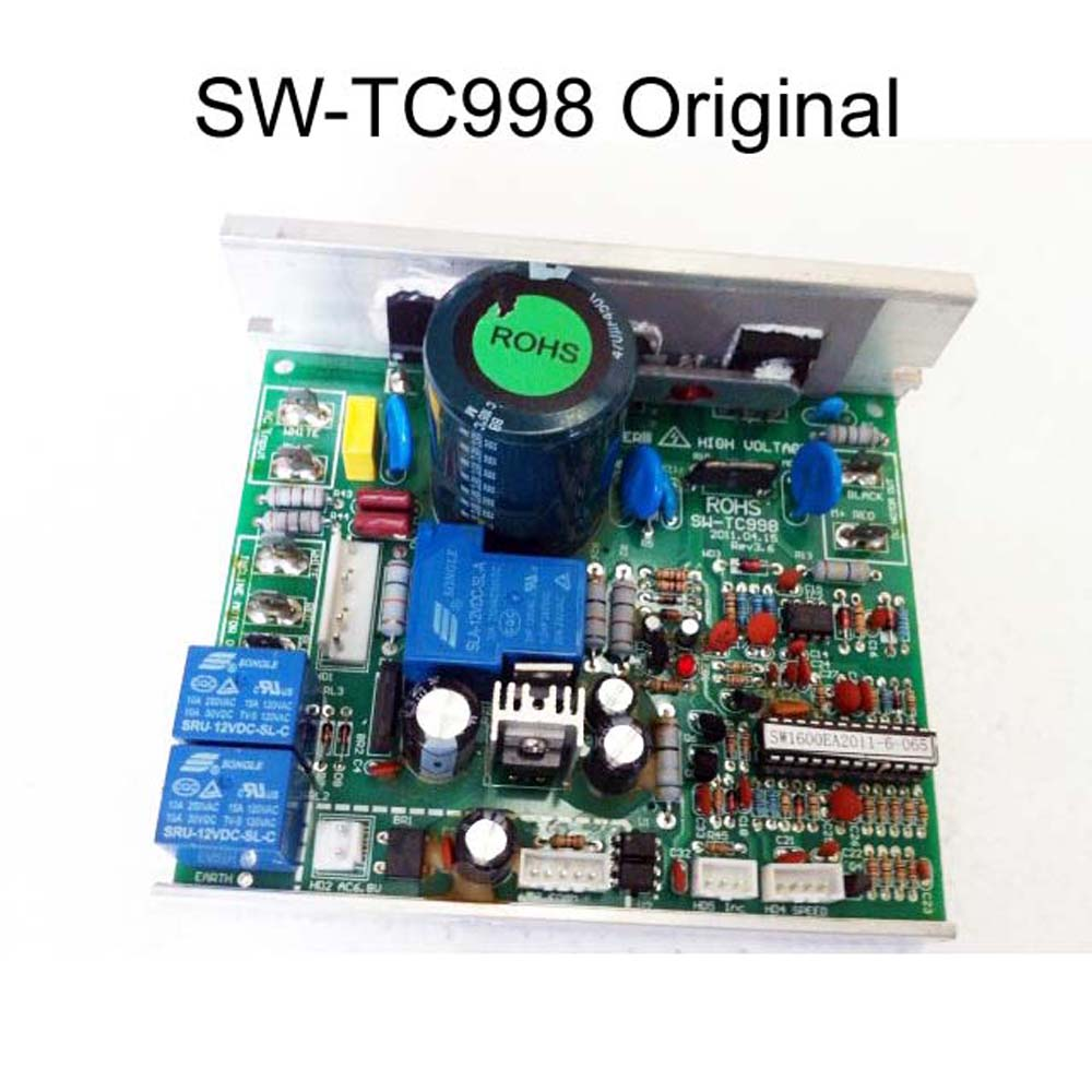 Replacment SW TC998 treadmill controller for Reebok treadmill driver board general treadmill control board power supply