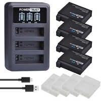 4Pcs 1680mAh AHDBT-401 Batterie für Gopro Hero 4 Batterie AHDBT401 AHDBT 401 + LED 3-Port USB ladegerät Für GoPro Hero4 HERO4 Kamera