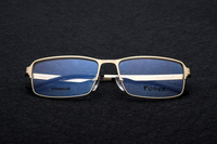 New Myopia Glasses Brand Design Eyewear Men Gafas Office Titanium Glasses Frame Full Rim Flexible Hinge