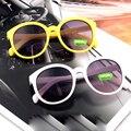 2 шт./лот новый 2016 ребенок UV400 защиты мода солнцезащитные очки девочка и мальчик óculos de sol милые дети очки N673