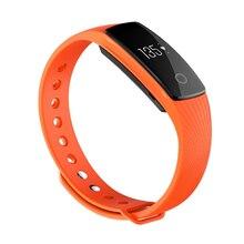 Bluetooth Smart наручные часы телефон браслет сердечного ритма Мониторы Фитнес трекер оранжевый