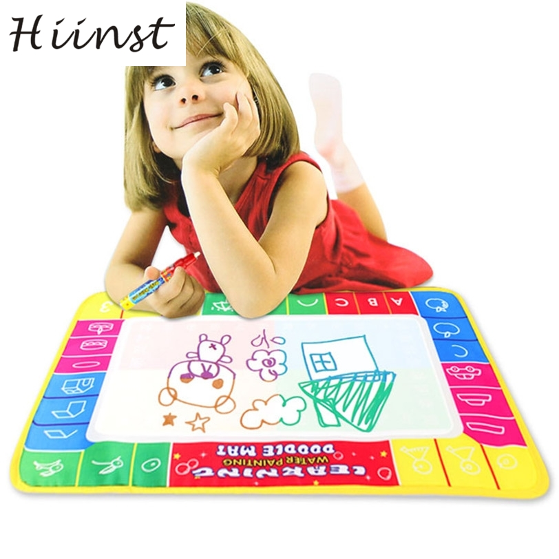 HIINST Four-color magical water 3Xcm Water Drawing Painting Writing Mat Board & Magic Pen Doodle Toy Gift ag9 P23Aug15