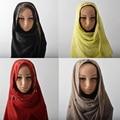 Fashion muslim hijab with rhinestones,high quality cotton scarf with diamond,paillette soft hijab solid color,muffler,head scarf