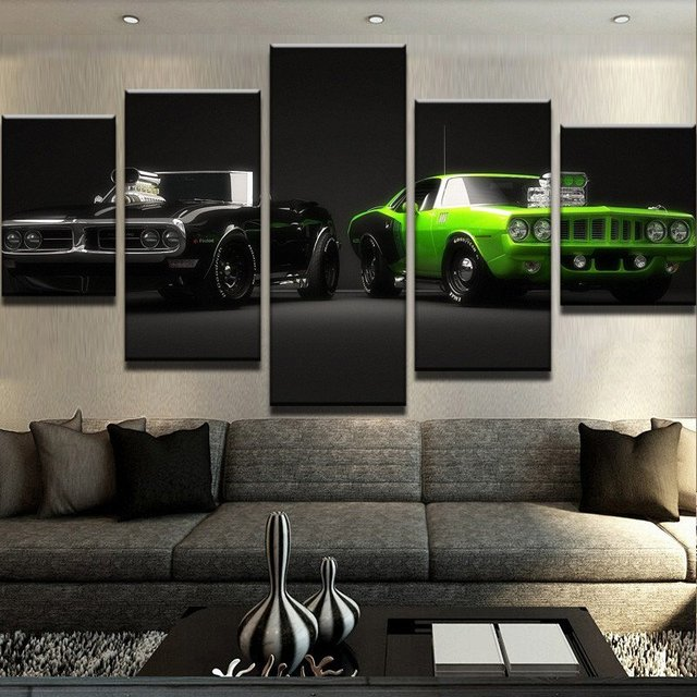 Canvas Wall Art Posters Prints Painting Pictures For Living Room Home Decor 5 Piece