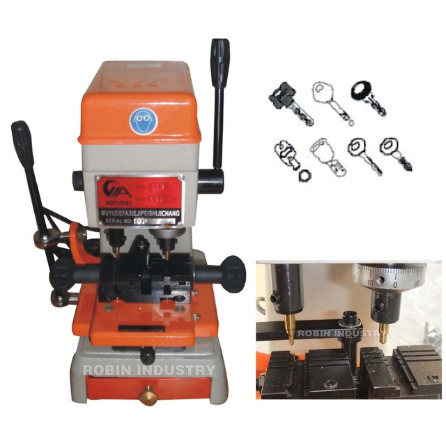 RC-27  universal  key cutting machine , key copy machine , send to all the world