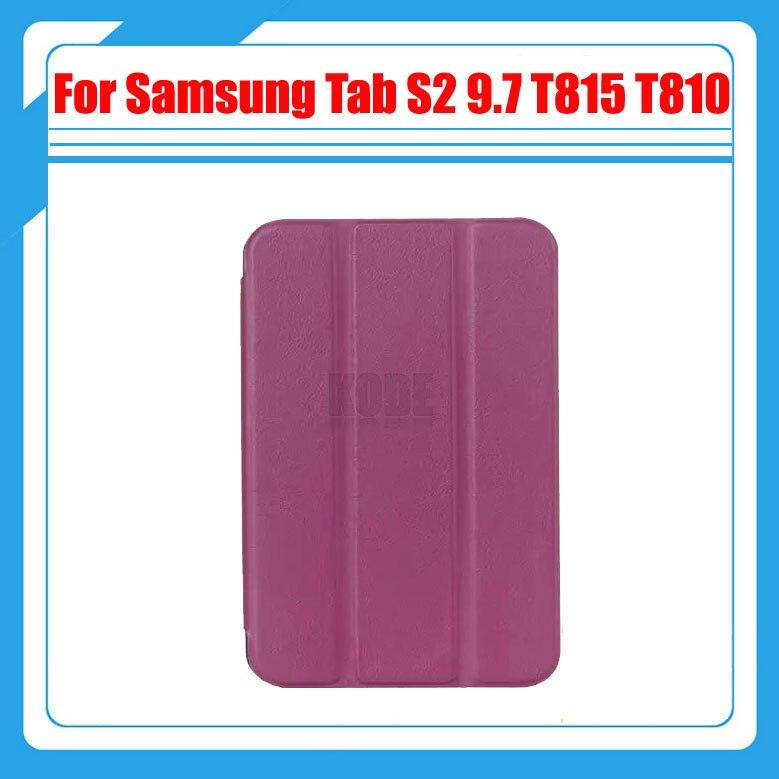 Magnétique Stand pu housse en cuir Pour Samsung Galaxy Tab S2 9.7 T815 SM-T810 T810 tablet cas + protections d'écran + stylus