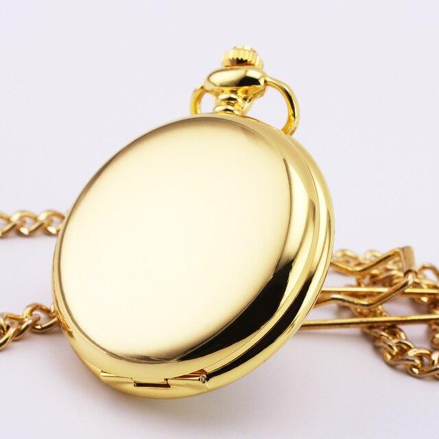 Orkina ретро карманные часы золотой красный циферблат большое число нержавеющей стали гладкий чехол руки ветер механические портативный удобный 27