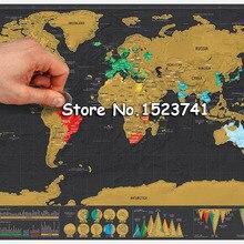 1 x дорожная Роскошная стираемая карта мира новинка подарочная география развивающая игрушка карта 42*30 см