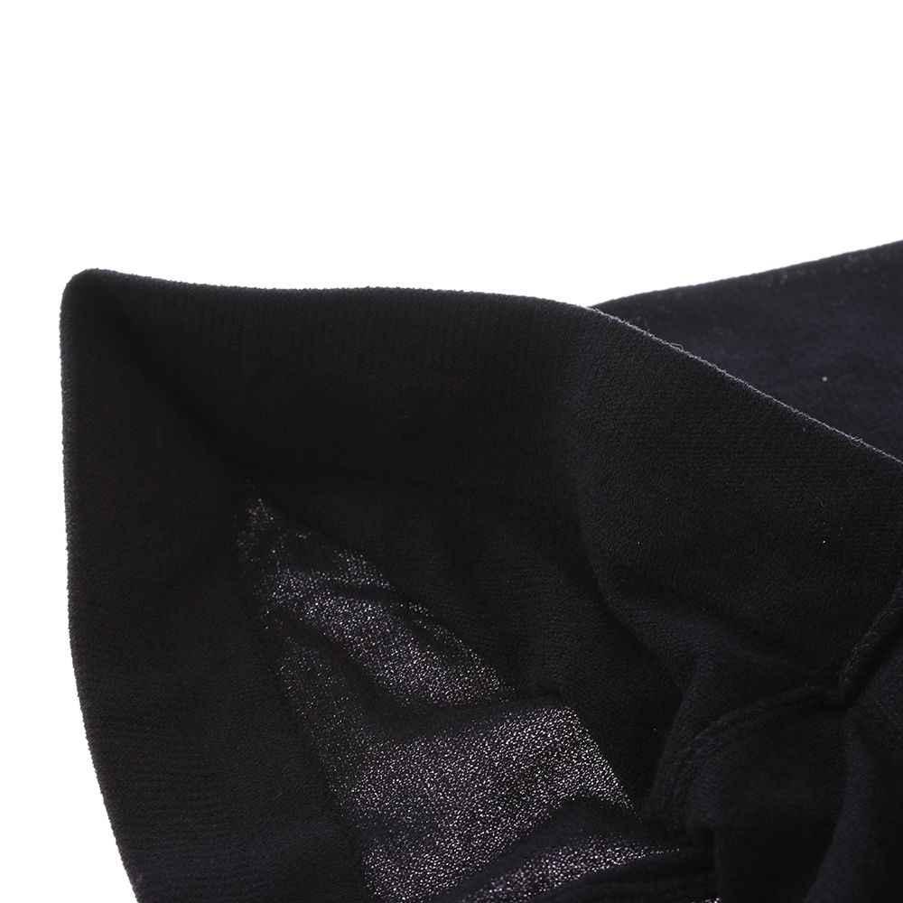 เซ็กซี่ผู้หญิง Bow Suspenders Pantyhose ถุงน่องสีดำสูง Boot กำมะหยี่ผ้าฝ้ายนุ่มกว่าเข่าถุงเท้าขายร้อน