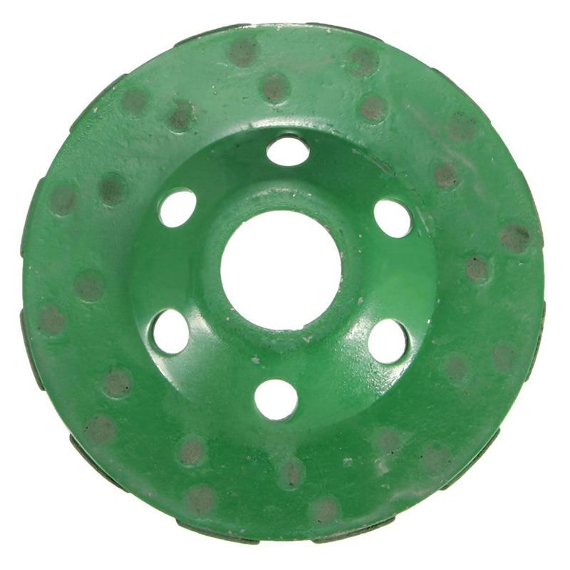 "New 4"" 100mm Diamond Grinding Wheel Disc Bowl Shape Grinding Cup Concrete Granite Stone Ceramics Tools"