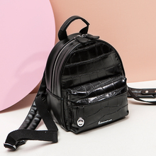 backpack white black woman and young fashion girl womans Backpack