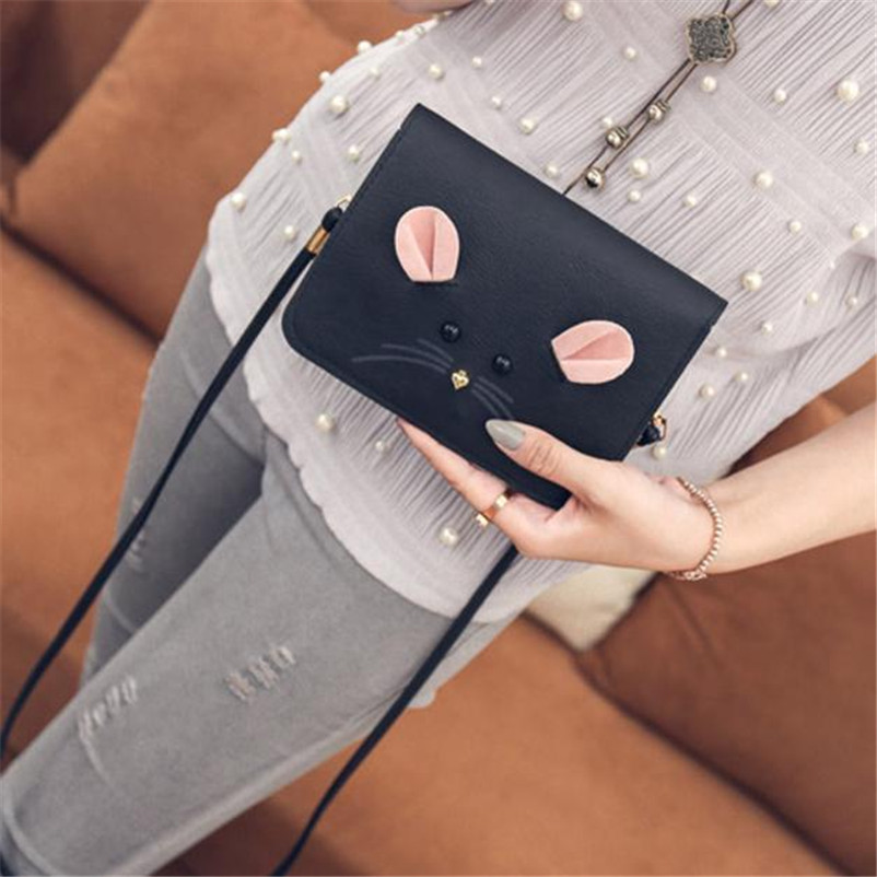 sac a main women bag leather handbags messenger bags luxury designer fashion handbag bolsa feminina bolsos mujer bolsas metal 2018 women messenger bags minnie mickey bag leather handbags clutch bag bolsa feminina mochila bolsas female sac a main