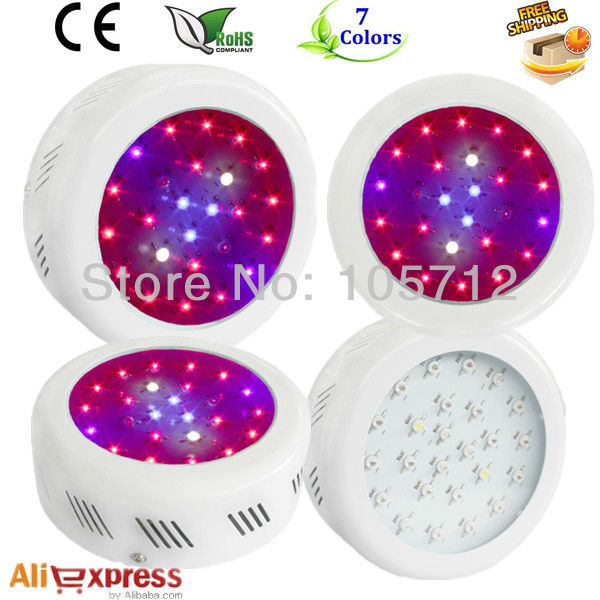 Fedex 25x3w Mini UFO grow lights 3 W high power chip Epistar LEDs full years warranty CE&ROHS passed dropship  -  ledgrow_XSLED store