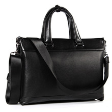Hot Selling Leather Business Bag Men Genuine Handbag Briefcases