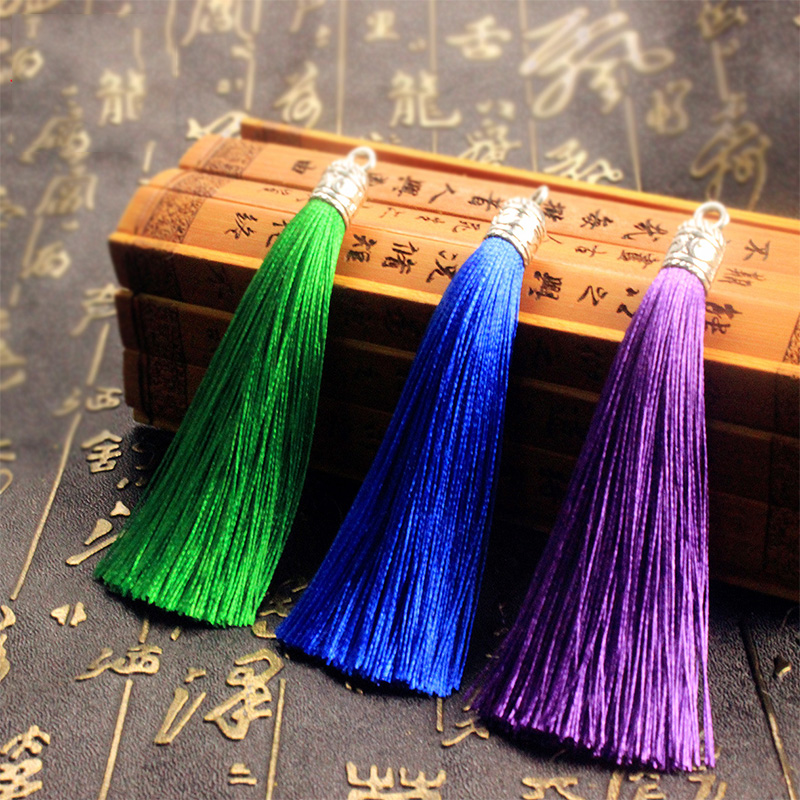 Hot Candy Color Earring Tassel Jewelry Accessories DIY Handmade Tassel For Necklace Earring Accessories