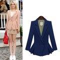 2016 women blazers and jackets veste femme manche longue jaqueta feminina plus size veste black suit women mujer blazer feminino