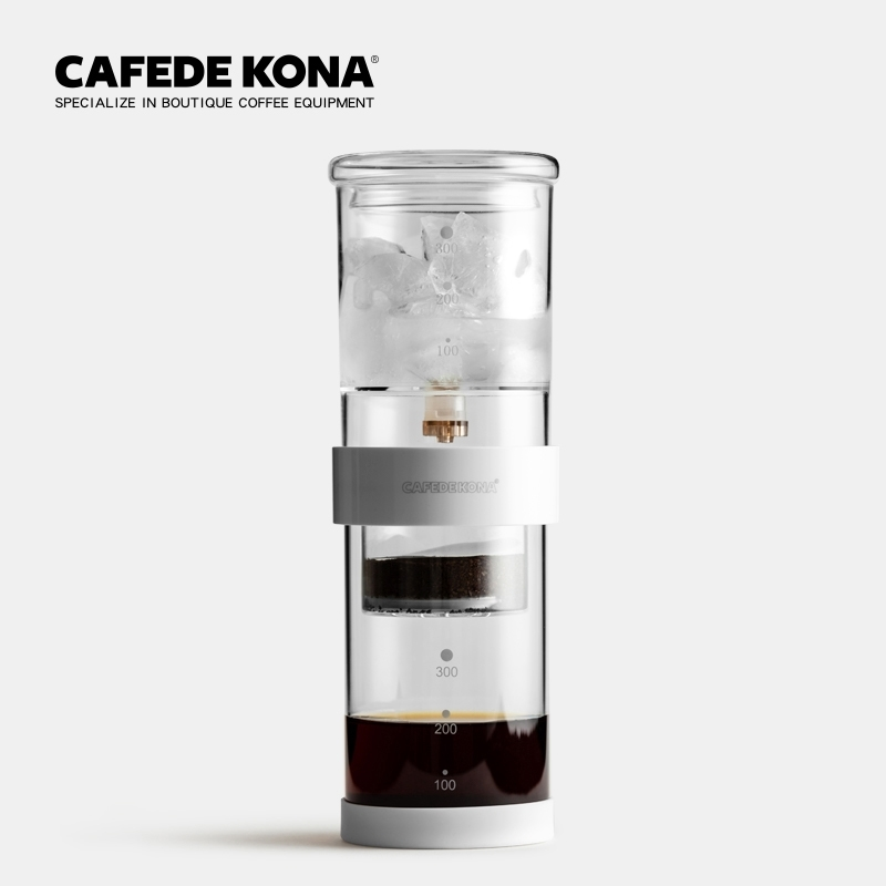 CAFEDE KONA Iced Coffee Maker Home Coffee Drip Iced Coffee Maker Drip Pot Set