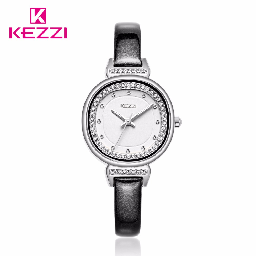2017 KEZZI Women Watches  Watch  Quartz Watch White Fashion Relojer Feminino Women Student Wrist Watches k-1708