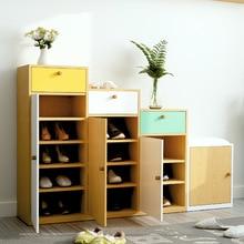 Шкафы для обуви стойка для обуви органайзеры домашняя мебель chaussure дальномер деревянный шкаф для обуви stockage chaussure минималистский скандинавский