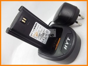 Image 2 - HYT TC 610 5W Radio bidirectionnelle Portable avec batterie Li ion HYTERA TC610 talkie walkie longue portée UHF VHF Radio professionnelle