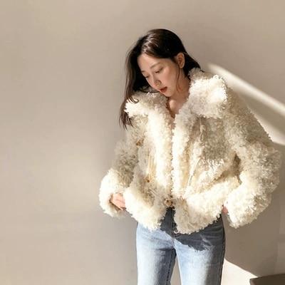 2018 New Style High-end Fashion Women Faux Fur Coat C39