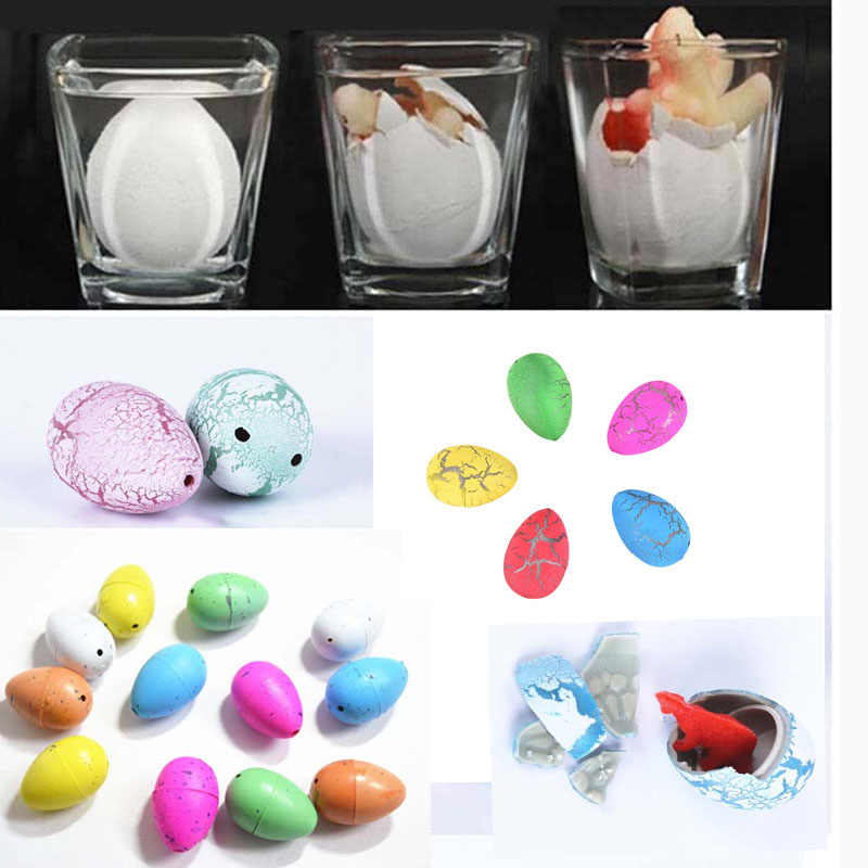 Colorful Magic Retail Growing Dinosaur Eggs Hatching Kids Children Learning & Education Toy Novelty Gag Toys
