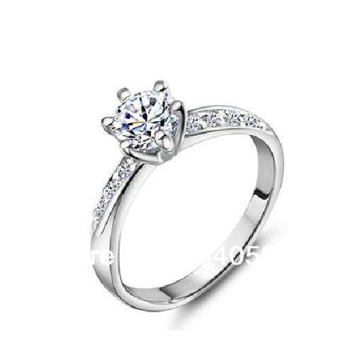 Real Sterling silver 3 Carat NSCD Diamonds Lab Diamond Rings for Women Diamonds  Wedding Engagement Ring With purple diamond c8c70b5d42a6