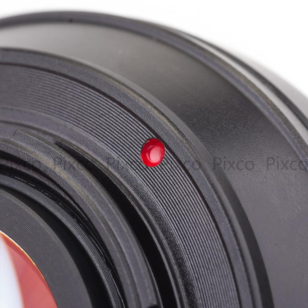 Pixco FD-FX kiiruse võimenduse fookuse reduktori objektiivi adapteri - Kaamera ja foto - Foto 3