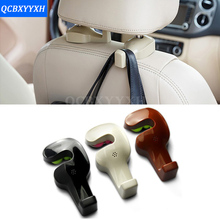 цены Car Styling 2PCS Car Fastener&Clip Interior Accessories Bags Auto Portable Seat hook Hanger Purse Bag Holder Organizer Holder