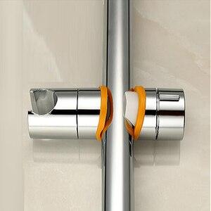 Ручной кронштейн для душа BAKALA, сменный головной ползунок из АБС-пластика 20-25 мм, регулируемый держатель для душа, хромированные инструменты для ванной комнаты