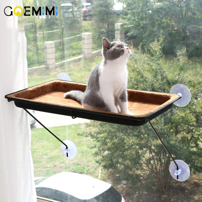 New Arrival Cat Hammock Bed Window Mounted Bed Sofa Mat Comfortable Soft Kennel For cat cama
