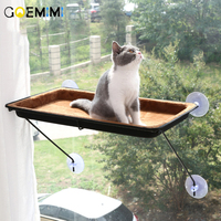New Arrival Cat Hammock Bed Window Mounted Bed Sofa Mat Comfortable Soft Kennel For cat cama para gato Cat Hanging Shelf Seat