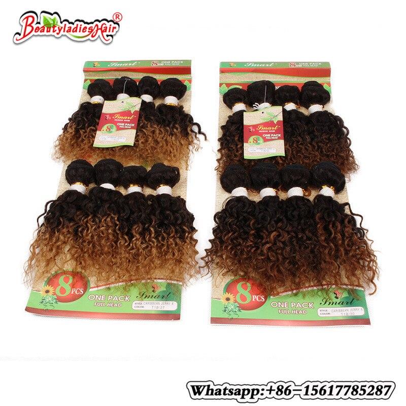 Βραζιλιάνικο σγουρά μαλλιά 8Bundles - Συνθετικά μαλλιά - Φωτογραφία 5