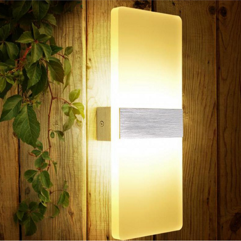 Fashion LED wall lamp modern acryl wall sconce foyer diningroom bathroom aisle background wall light bedroom study reading light modern simple wavy acryl aluminum led wall lamp for bathroom mirror light bedroom living room tv background aisle 48 58cm 1337
